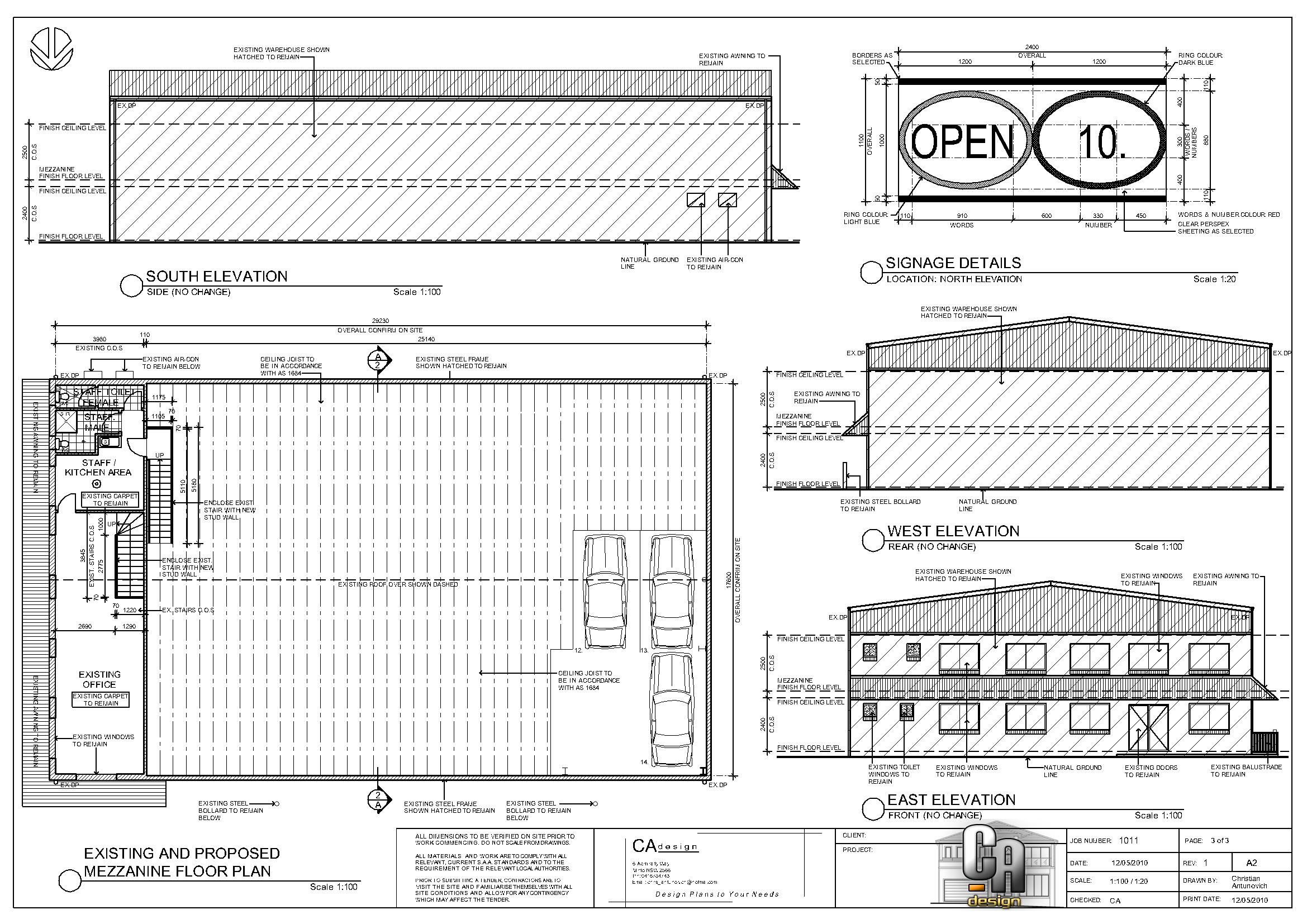 Image for Warehouse plans designs